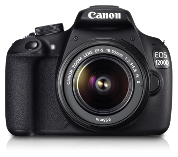 Canon EOS 1200D (EF- S 18-55mm f/3.5-5.6 IS II) Lens Kit