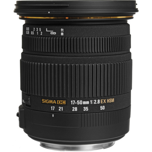 SIGMA17-50mm f/2.8 EX DC OS for Canon, Nikon