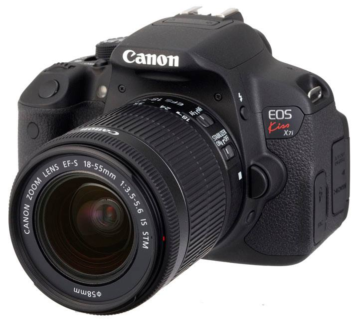 Canon EOS Kiss X7i (EF-S 18-135mm F3.5-5.6 IS STM) Lens Kit
