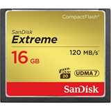 SanDisk CF 16GB (Extreme - 120Mbps - 800x)