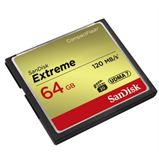 SanDisk CF 64GB (Extreme - 120Mbps - 800x)