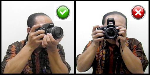 Mẹo cầm máy ảnh để chụp ảnh không bị rung
