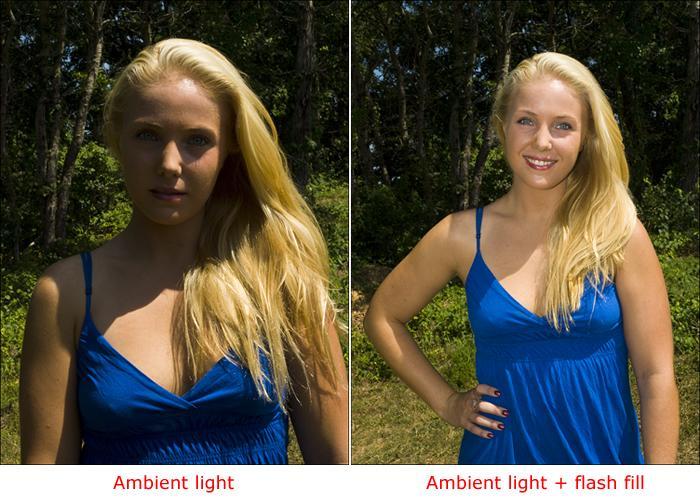 Cách chụp chân dung ngoài trời nắng gắt